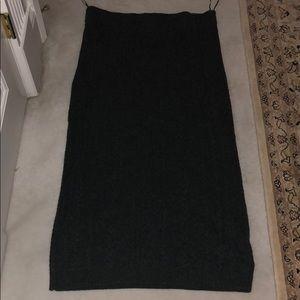 Ralph Lauren cable/knit skirt. NWT CASHMERE.